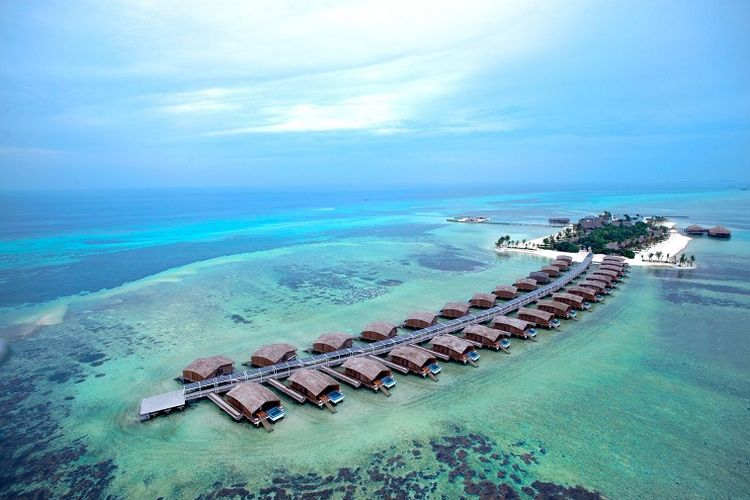 Club Med Finolhu di Maladewa.