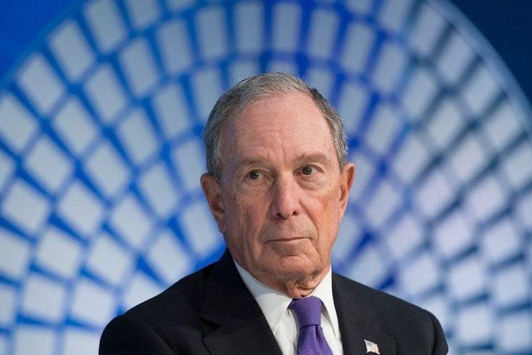 Biliuner yang juga mantan Wali Kota New York Michael Bloomberg