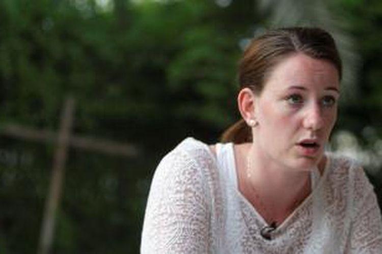 Marte Deborah Dalelv (24), perempuan Norwegia yang dipenjara di Dubai setelah melaporkan perkosaan yang menimpa dirinya.