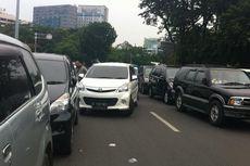 Monas Dibuka Saat Libur Natal, Jalan Medan Merdeka Selatan Macet