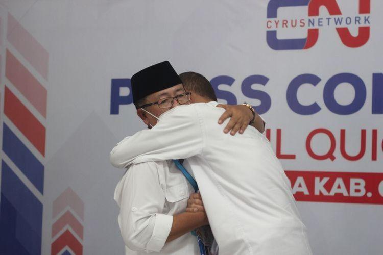 Pasangan bupati dan wakil Cianjur terpilih periode 2021-2026, Herman Suherman - TB Mulyana Syahrudin.