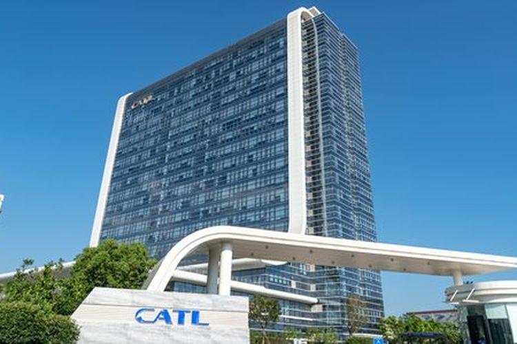 Ilustrasi kantor CATL di China.