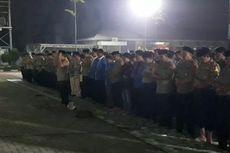 Mahasiswa dan Polisi Gelar Shalat Gaib untuk 2 Mahasiswa yang Tewas di Kendari