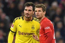 Dortmund Vs Bayern, Mats Hummels Mulai Frustrasi Kejar Gelar Juara