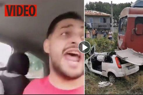 Video Live Rekam Detik-detik Terakhir Bintang Pop Meninggal Tertabrak Kereta Api