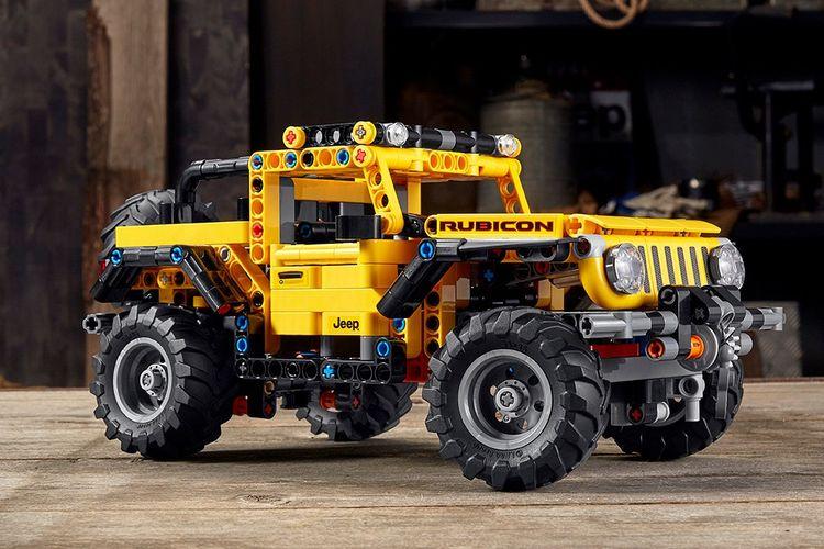 Lego Technic x Jeep Wrangler