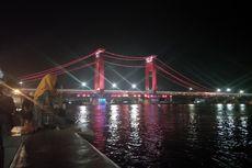 Satu Spot Terbaik Menikmati Jembatan Ampera Palembang