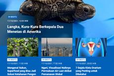 [POPULER SAINS] Kura-kura Berkepala Dua | Visualisasi Permukaan Air Laut Naik