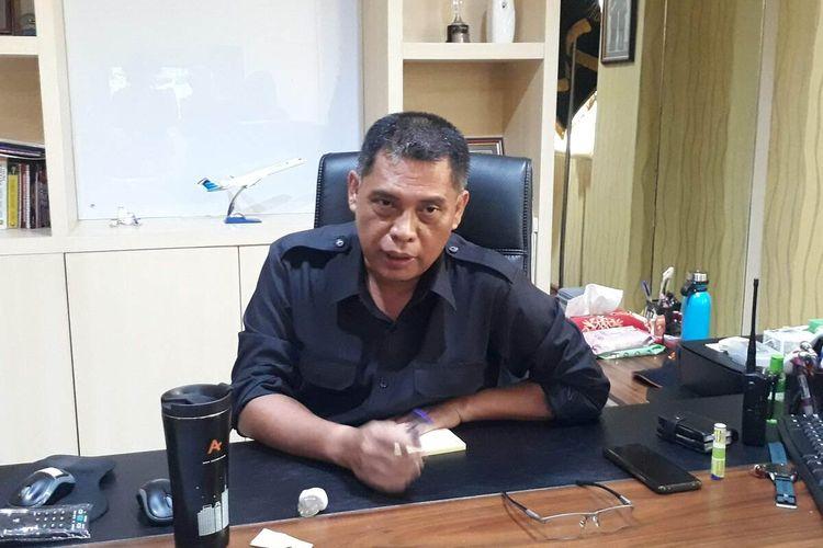 Kepala Satpol PP Kota Surabaya Eddy Cristijanto