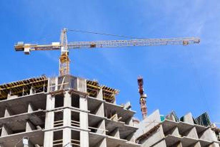 Ilustrasi: pembangunan gedung