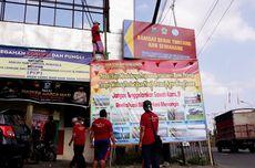Lahan 500 Hektare 'Ditenggelamkan', Petani di Rawa Pening Ambarawa Pasang Spanduk Protes