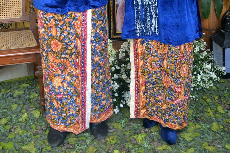 Ilustrasi batik lasem