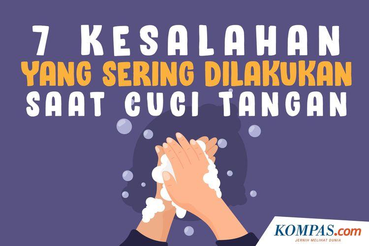 7 Kesalahan yang Sering Dilakukan Saat Cuci Tangan