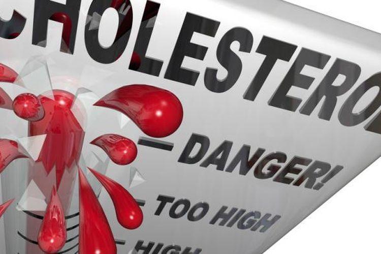 Ilustrasi kolesterol tinggi