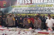 Kasus Penyelundupan 310 Kilogram Sabu, Polisi: Produsen dari Iran, Jaringan Pengedar dari Nigeria