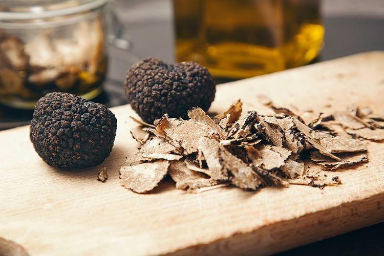 Black truffle.
