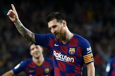 100 Gol Messi untuk Barcelona Dicetak dari Luar Kotak Penalti