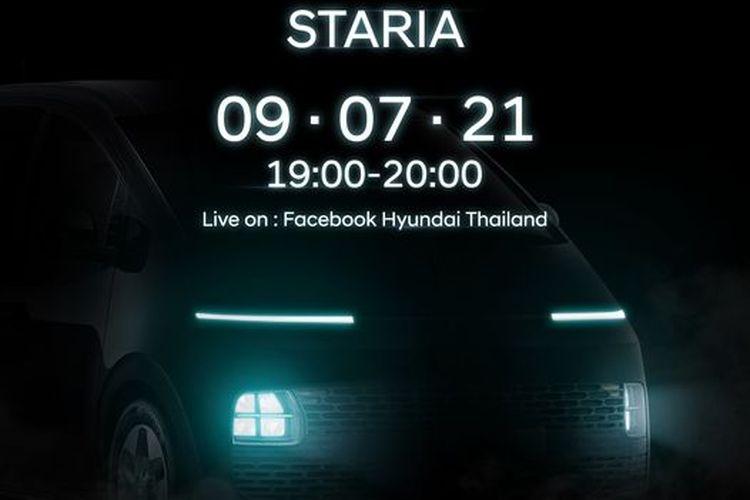 Acara peluncuran Hyundai Staria di Thailand