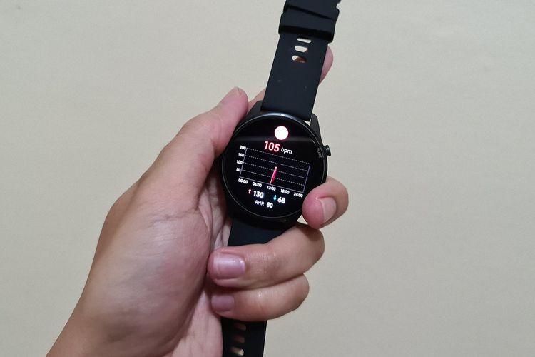 Smartwatch Xiaomi Mi Watch dihadirkan untuk menunjang gaya hidup dan mengontrol kesehatan pengguna.