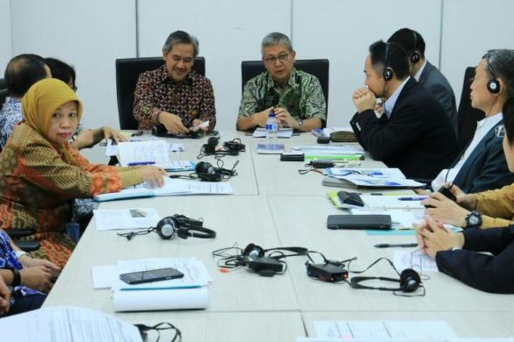 KKP menggelar workshop dengan menghadirkan para pakar dari Jepang yakni, Dr Mikami Nobuo, Prof Yamao Masahiro, dan Mr Sugiyama Masanori