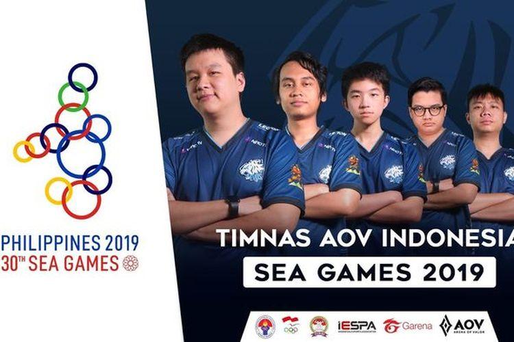 EVOS Esports wakili Indonesia di ajang SEA Games 2019.