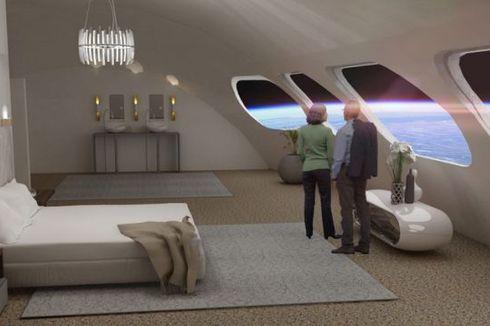 Tahun 2027, Hotel Mewah Ini Bisa Mengantar Anda Jalan-jalan ke Luar Angkasa