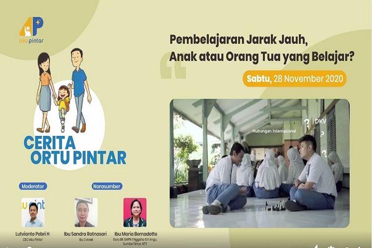 Cerita Ortu Pintar merupakan salah satu program Aku Pintar.