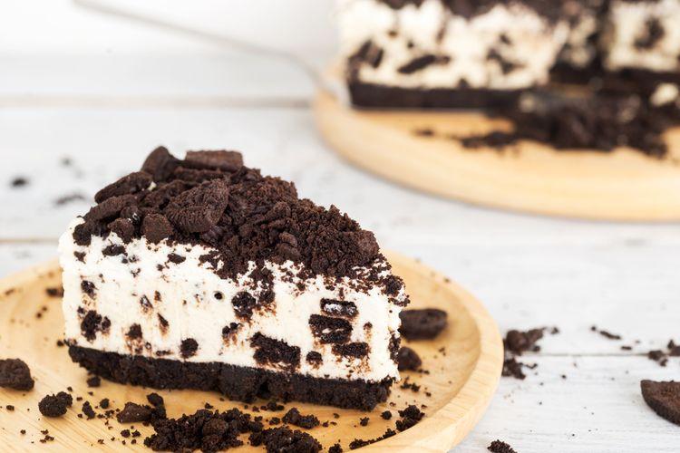 Ilustrasi Oreo Cheesecake
