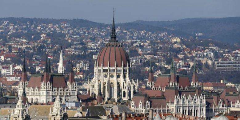 Gedung parlemen Hongaria di ibu kota Budapest (Foto: Dokumentasi).