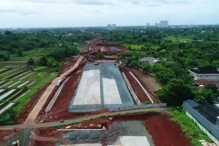 Hingga akhir Januari 2018, pembangunan fisik Jalan Tol Kunciran-Serpong sepanjang 11,20 kilometer ini telah mencapai 35,90 persen.