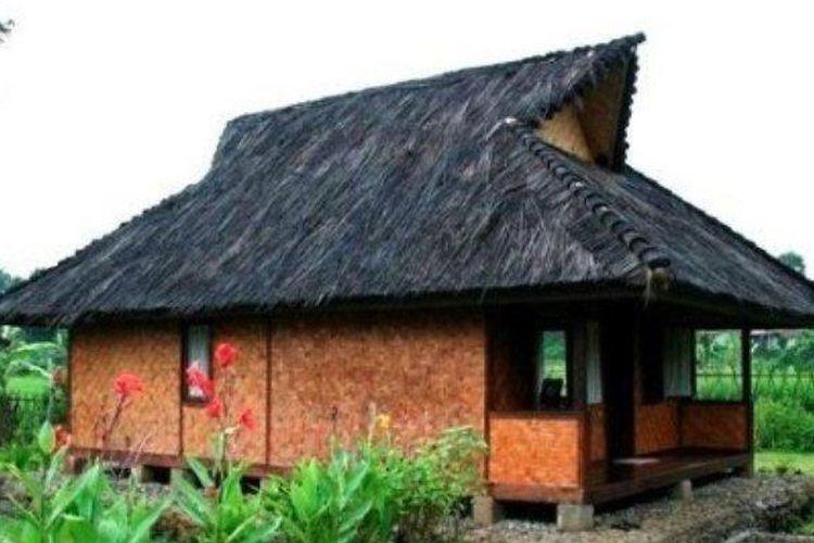Rumah adat masyarakat Sunda Jolopong
