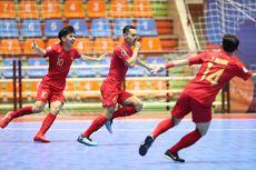 Perempat Final Futsal Piala Asia 2019, Indonesia Sementara Unggul 2-0