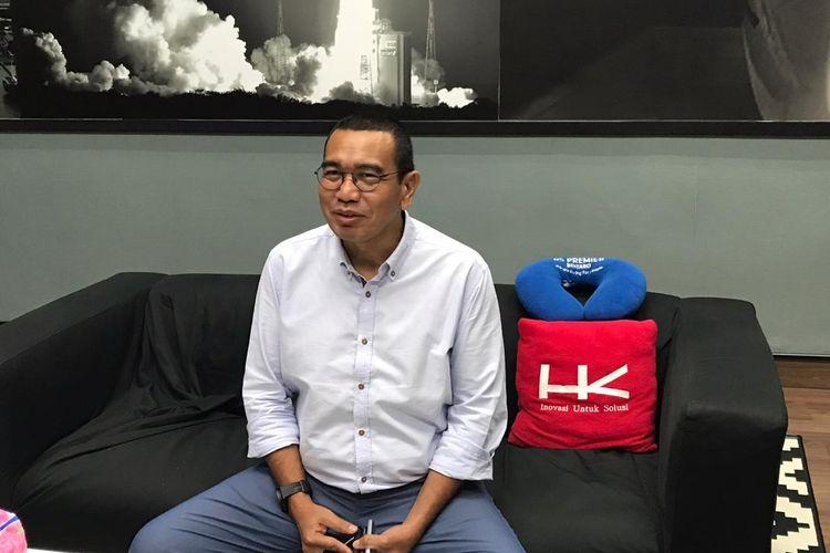 Staf Khusus Menteri BUMN Arya Sinulingga di Kementerian BUMN, Jakarta, Jumat (6/12/2019).