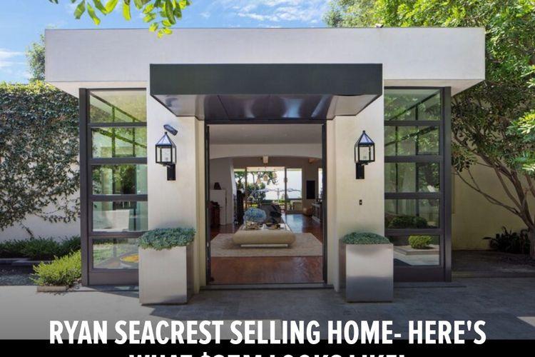 Kediaman Ryan Seacrest di Beverly Hills yang akan dijual.