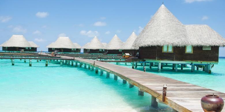 Vila di Maladewa.