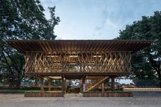 Berprestasi di Tengah Pandemi, Perpustakaan Warak Kayu Sabet Penghargaan Building of The Year 2021