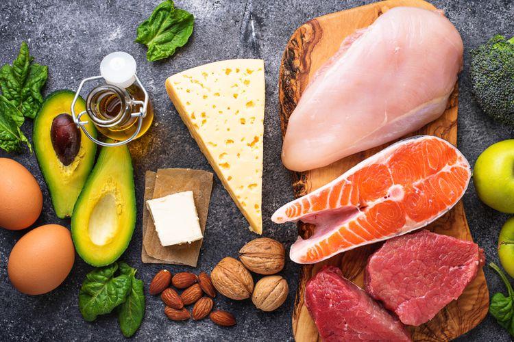 Diet DEBM pada dasarnya merupakan pola makan rendah karbohidrat, tinggi lemak dan protein.