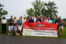 KJRI Chicago Promosikan Pariwisata Indonesia Lewat Turnamen Golf Bersama Para Agen Perjalanan Terbesar di Midwest