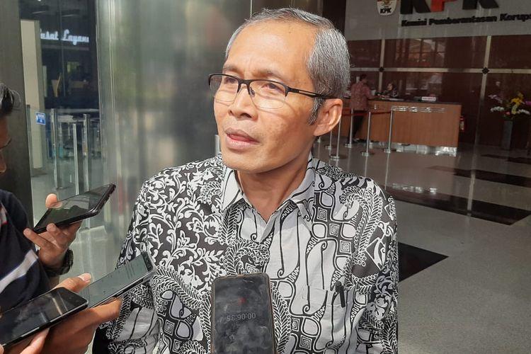 Wakil Ketua KPK Alexander Marwata di Gedung Merah Putih KPK, Kamis (20/2/2020).