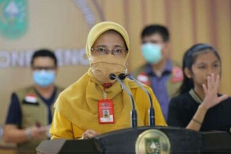Kepala Dinas Kesehatan (Kadiskes) Provinsi Riau, Mimi Yuliani Nazir
