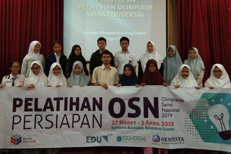 Program persiapan KSN (Kompetisi Sains Nasional) yang diadakan Eduversal melalui EduOS Olympiad Online Training (EduOS OOT) tahun 2019.