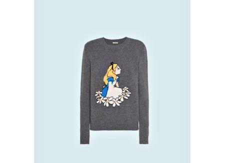 Disney x Miu Miu Rilis Koleksi Sweater dengan Karakter Alice dan Bambi