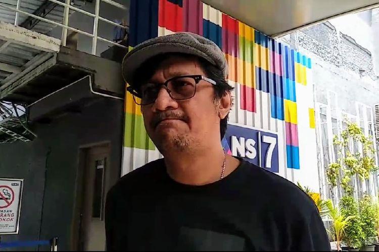 Andre Taulany saat ditemui di kawasan Tendean, Jakarta Selatan, Selasa (3/3/2020).