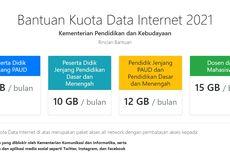 Mulai Cair Hari Ini, Berikut Cara Cek Kuota Kemendikbud 2021 untuk Pengguna Telkomsel, Axis, dan XL