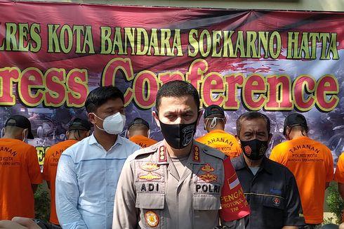Komplotan Pencuri yang Menyasar Gedung Baru Mako Polres Bandara Soekarno-Hatta Sudah 10 Kali Beraksi
