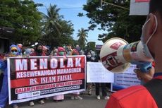 Rumahkan 157 Karyawan, Rumah Sakit Islam Faisal Makassar Didemo