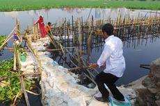 Warga Kaget Lihat Jokowi Loncat ke Tepi Waduk Tomang Barat