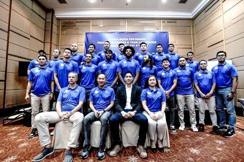 Satria Muda Pertamina Launching Tim untuk IBL 2020