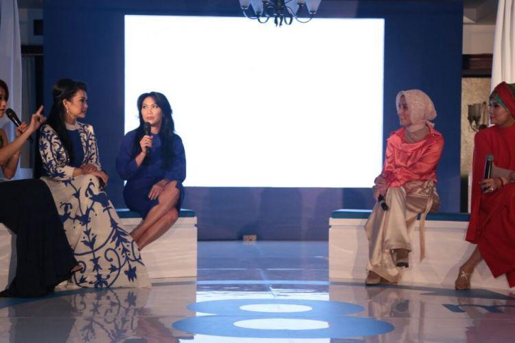 Talkshow tentang kesehatan vagina dalam acara An Intimate Evening with Ultra Femme 360 di Jakarta (24/1).