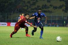 Arema FC vs Borneo FC, Dua Gol Kayame Gagal Bawa Singo Edan Menang